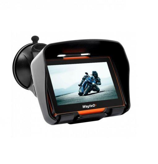 WayteQ Xrider - навигация за мотоциклет