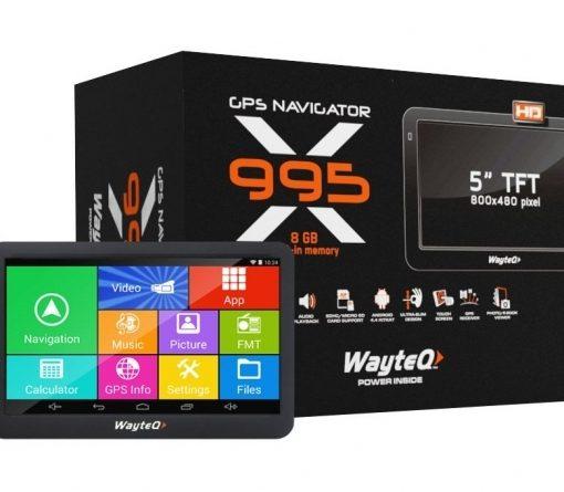 Четириядрена GPS навигация Wayteq X995
