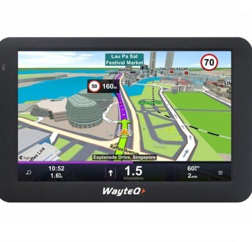 GPS навигация със Sygic Wayteq X995