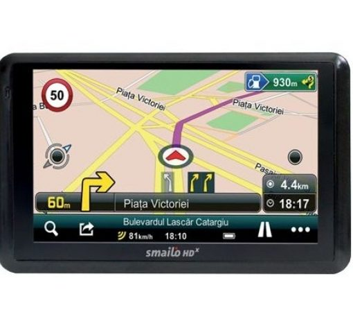 GPS навигация Smailo HD x50 Travel Europa