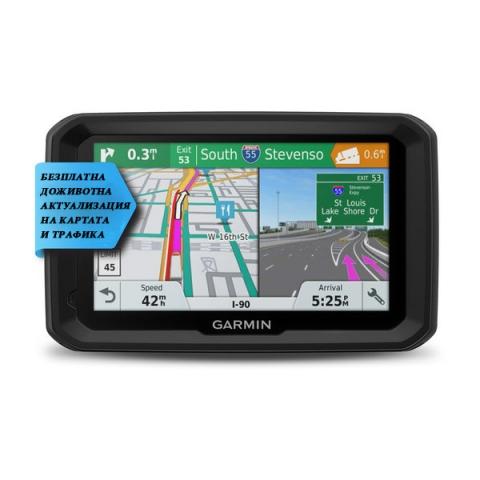 GPS навигация за камион GARMIN DEZL 580 LMT-D