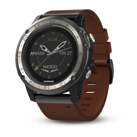 GPS авиационен часовник Garmin D2 Charlie