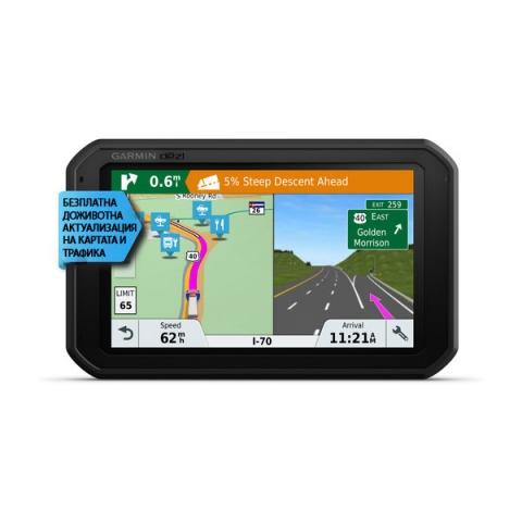 GPS навигация за камион Garmin dēzl 780 LMT-D