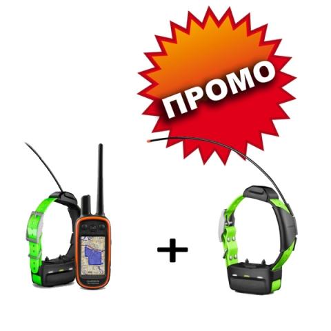 Garmin за проследяване на кучета Alpha 100 Bulgaria с две TТ15 каишки
