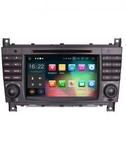 Навигация двоен дин за Mercedes W203, W209 с Android 9.0 ES7969C, GPS, WiFi, 7 инча