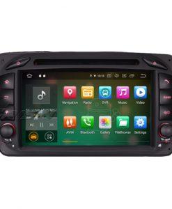 Навигация двоен дин за Mercedes W203, W209 с Android 9.0 ES7963C, GPS, WiFi, 7 инча