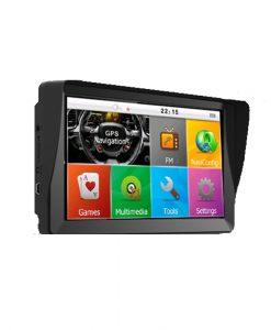 GPS навигация за камиони с вграден сенник TRUCKER PRO